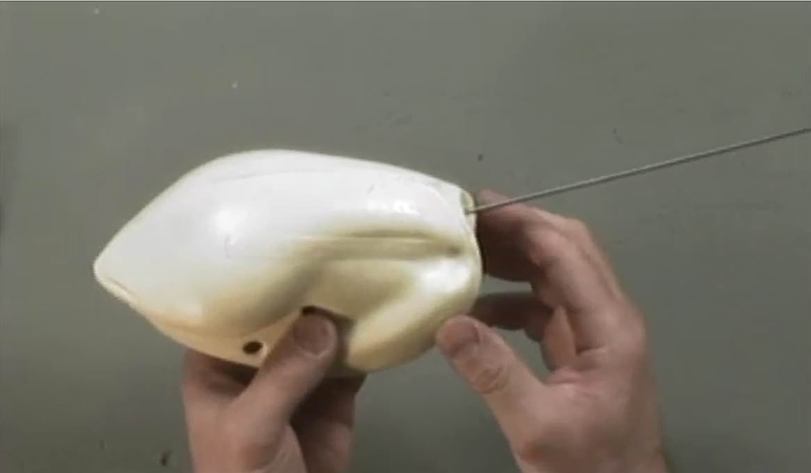Artificial Neck and Head Hole